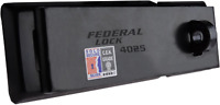 HIGH SECURITY HASP & STAPLE Federal 4025 Heavy Duty Padlock Bar Includes Fixings