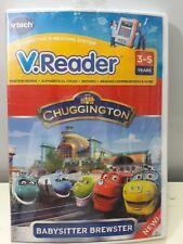 Vtech Vreader E-reading System Chuggington Babysitter Brewster
