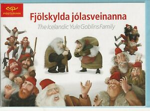 ICELAND Sc 896-897 NH issue of 1999 - SPECIAL BOOKLET #1- CHRISTMAS ELVES