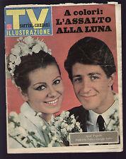 SORRISI 15/1965 GABER COLLI SACCO VANZETTI CHAMBERLAIN KILDARE FIAT 850 SPIDER