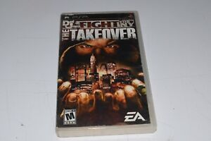 Def Jam Fight For NY The Takeover Sony PSP complete used tested Esrb version
