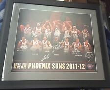 2011-2012 Phoenix Suns Team Signed Framed Print- #2