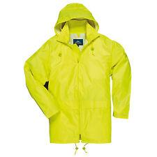 Rain Jacket Waterproof Weatherproof Outdoor Coat with Hood S-5XL, Portwest US440