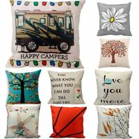 Linen Cotton Fashion Throw Pillow Case Cushion Cover Home Sofa Decoration Pillow
