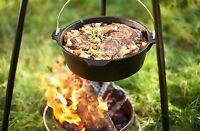 Petromax FT 6 Kochtopf Feuertopf Dutch Oven aus Gusseisen ohne Füsse frei Haus