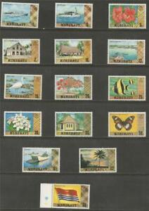 KIRIBATI - 1979 -1981 Local Motives - COMPLETE SET MINT UNHINGED.