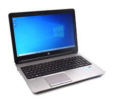 "HP Probook 650 G1 Core i5-4210M 8GB RAM 256GB SSD 15.6"" Display Windows 10"