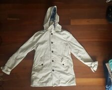 ASOS Hooded Coat Short Trench - Medium FREE POSTAGE