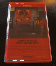 Arista Cassette Tape Aretha Franklin Who's Zoomin' Who? Classic Rock Queen