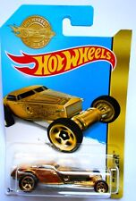 HOT WHEELS HI-ROLLER GOLD ORO MATTEL 2016 [W11]