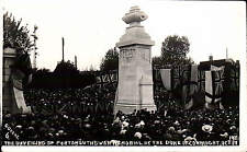 Portsmouth. Duke of Connaught Unveiling War Memorial # 6 by Cozens.
