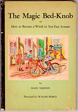 1943 HD 1ST EDITION MAGIC BED-KNOB BECOME A WITCH TEN EASY LESSONS MARY NORTON