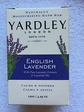 YARDLEY LONDON  NATURALLY MOISTURISING BATH BAR/SOAP 120G ENGLISH LAVENDER