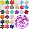 Nice 10/100PcDIY Satin Ribbon Rose Flower 40mm Craft/Wedding Appliques DIY Decor