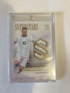 2020 Futera Unique Messi Game Used Argentina Jersey Card 14/34