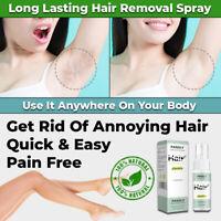 NEW 100% NATURAL PERMANENT HAIR REMOVAL SPRAY POWERFUL PAINLESS LEGS BIKINI FACE