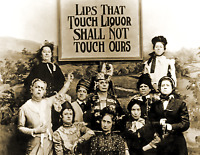 "1901 Lips That Touch Liquor, Prohibition Vintage/ Old Photo 8.5"" x 11"" Reprint"