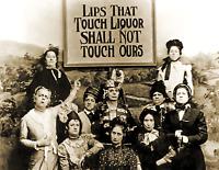 "1901 Lips That Touch Liquor, Prohibition Vintage/ Old Photo 8.5"" x 11"" Reprint"