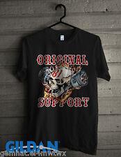 New Origin Support 81 Big red Machine Hells HA Black Gildan T-shirt size 2XL