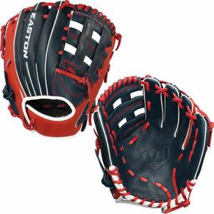 """NWT Easton Future Elite 11"""" Youth Baseball Glove Navy/Red/White A130 828.2022."""