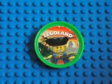 Lego-Pop badge (Capitaine Pirate-vert clair)