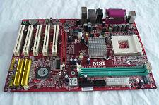MSI KT4A-V , Socket A, AMD Motherboard