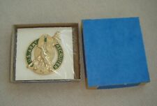 Army Gold Recruiter Id Badge In Box Of Issue New
