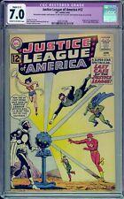 JUSTICE LEAGUE OF AMERICA #12 - CGC 7.0 - ORIGIN OF DOCTOR LIGHT - 2005741006