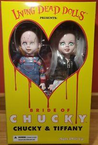 Mezco Chucky And Tiffany Box Set  Living Dead Dolls Presents LDD