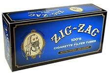 Zig-Zag Blue Light 100's - 50 Boxes - 200 Tubes Box Filter Cigarette Zig Zag 100
