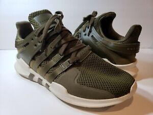 adidas Equipment Support ADV Mens CQ0882 Green Sneakers - Size 11