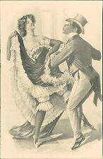 Black Gentleman Dancing White Lady  Beilage Sect   RJ.606