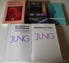 Jung Book Lot Practice Psychotherapy+Psychological Types+Cambridge Comp 5 PB Bks