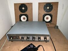 New listing Philips valve Amplifier with fullrange sparker driver 110-240 made in Holland
