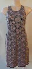 George Spyrou dress grey black lace Size S/10 sleeveless