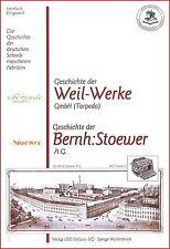 L.Dingwerth: Geschichte Schreibmaschinen-Fabriken: Weil-Werke Torpedo + Stoewer