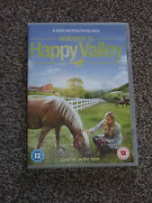 WELCOME TO HAPPY VALLEY : 2015 FAMILY FILM DRAMA DVD IN VGC (FREE UK P&P)