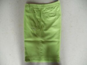 NWT Puma Golf Shorts Neon Green/Yellow Size 32