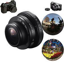MADOKA ultra Wide Angle Fisheye Lens for Sony NEX-7/6/5T E Mount Panoramic Lens