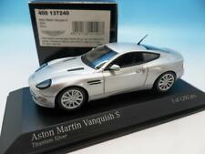MINICHAMPS ASTON MARTIN VANQUISH S 2004 TITANIUM SILVER 400 137240 1/43