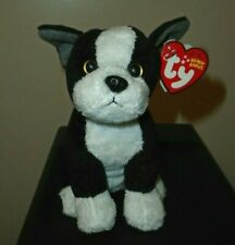 NM* Ty Beanie Baby - TUX the Boston Terrier Dog - MINT TAGS