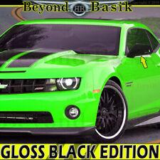 2010 2011 2012 2013 2014 2015 Chevy Camaro GLOSS BLACK Mirror COVERS Overlays