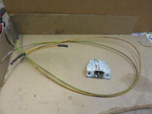 72-89 Mercedes W107 R107 Trunk Lid Lock Latch