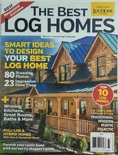 Log Home Living The Best Log Homes 2017 Smart Ideas Designs FREE SHIPPING sb