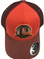 Mountain Life Outdoor Research Trucker Hat Cap Orange NWT Towers