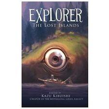 Explorer: The Lost Islands by Kazu Kibuishi (2013, Hardcover)