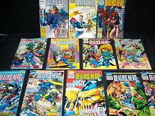 Lot de bandes dessinées DÉCÈS TÊTE II collection complète 12 numéros! magnifique