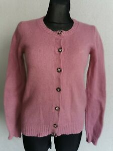 United Colors of Benet womens lana wool long sleeve light purple cardigan size M