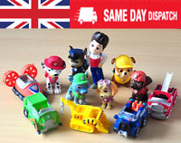 12pcs Paw Patrol Action Figures Puppy Patrol Dog Cake Toppers Kids Toy Gift