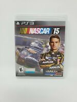 NASCAR '15 Sony Playstation 3 No Manual Tested and Works